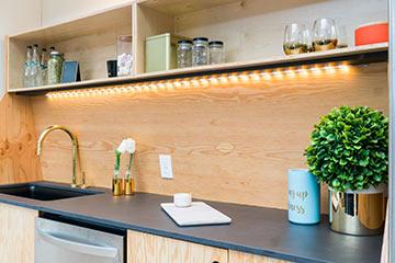 Kitchen lighting that works