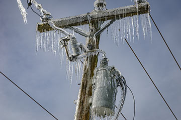 Ice storm hammers Fraser Valley communities