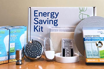 Save $100 every year in just two hours with our energy savings kits