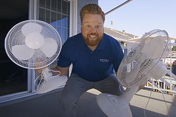 Starting with how to stay cool, best bets for saving energy