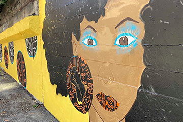 BC Hydro substation murals link back to a lost Black community