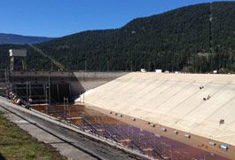 Kootenay Canal loses some water, gains new life