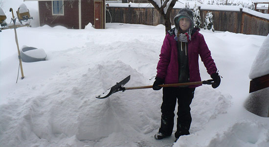Snow day in Vernon: Storm dumps 40 cm of powder in 48 hours