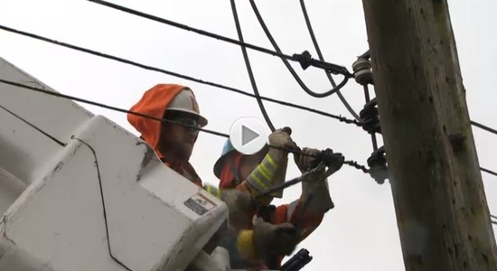A look at what it takes to do the 'high-wire act' of being a Power Line Technician