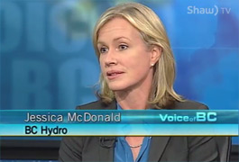 Jessica McDonald sits down to talk about Site C on Shaw's Voice of BC