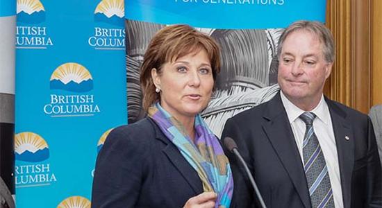 Premier announces new BCHydro chair
