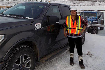 Job fair pays off for Peace region resident now working for Site C