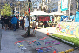 BC Hydro files court claim to halt protest camp at office
