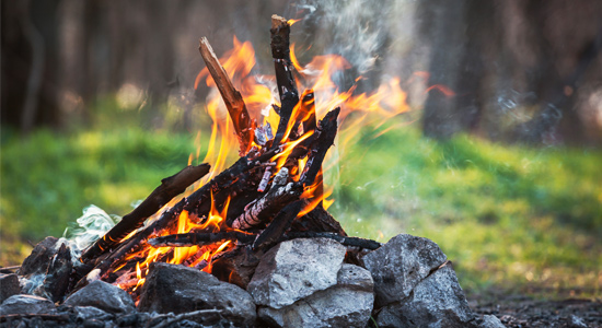 Never leave a campfire unattended, says BCHydro Fire Marshal