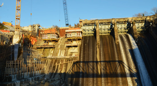 Originally built in 1930, Ruskin dam gets reboot