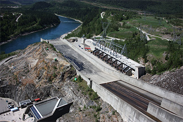 BCHydro a world leader in flow management at dams