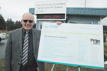 Recycling centre goes solar