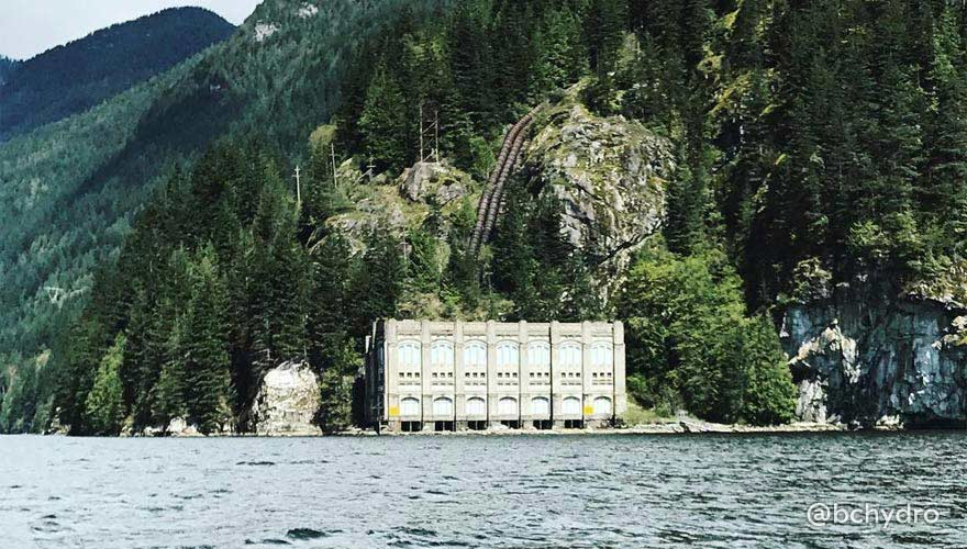 If you're boating down Indian Arm this spring and summer, catch a view of our Lake Buntzen 2 Powerhouse along the eastern shore