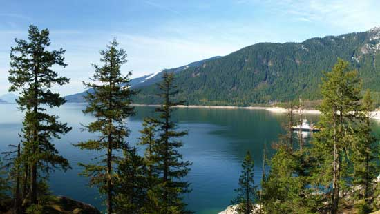 Arrow Lakes reservoir