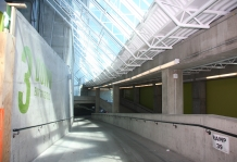 BC Place concourse lighting