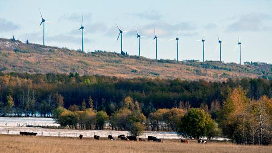 Wind Farm Gusts Renewable Energy Into Dawson Creek