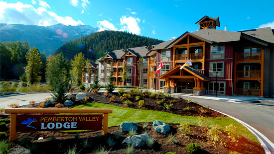 The pemberton valley lodge all keyed up about sustainability for Pemberton cabins