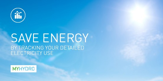 Save energy with MyHydro